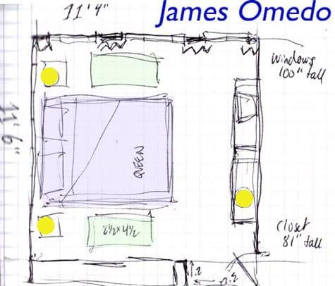 The Inside Man: James' Treehouse Bedroom: gallery slide thumbnail 1