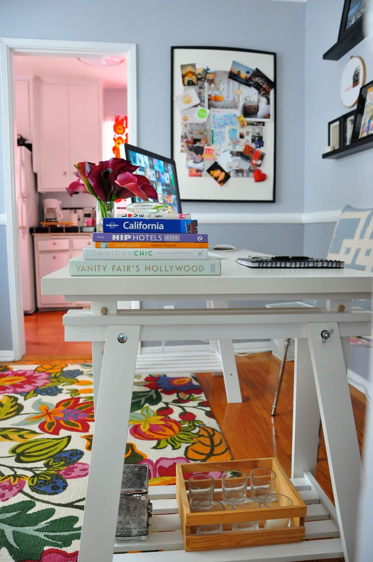Rebecca's Loving Living Small Home Office: gallery slide thumbnail 6