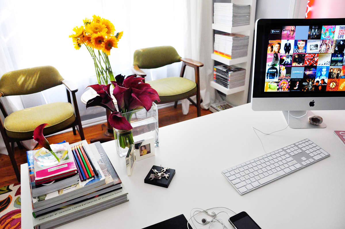 Rebecca's Loving Living Small Home Office: gallery slide thumbnail 16