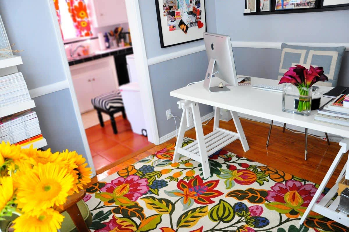 Rebecca's Loving Living Small Home Office: gallery slide thumbnail 17