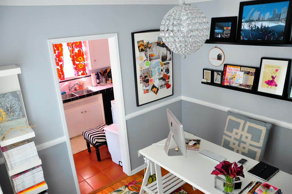 Rebecca's Loving Living Small Home Office: gallery slide thumbnail 13