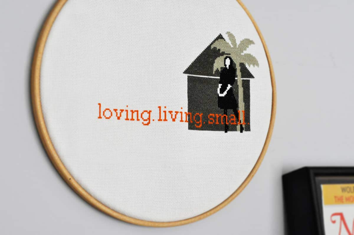 Rebecca's Loving Living Small Home Office: gallery slide thumbnail 5