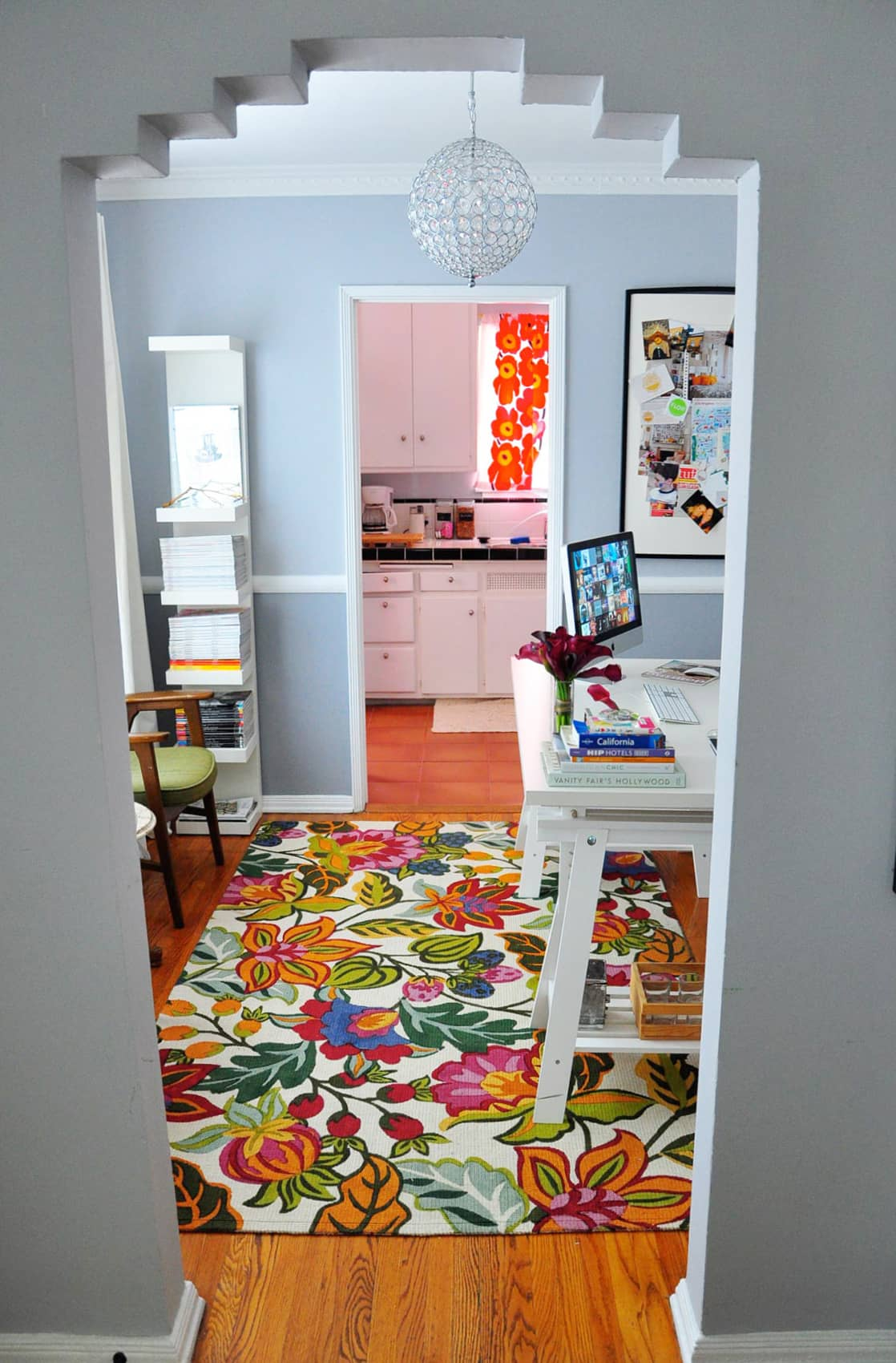 Rebecca's Loving Living Small Home Office: gallery slide thumbnail 11