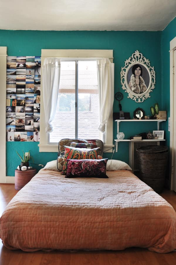 Inside the Bohemian Bedroom of Britney Nason: gallery slide thumbnail 2