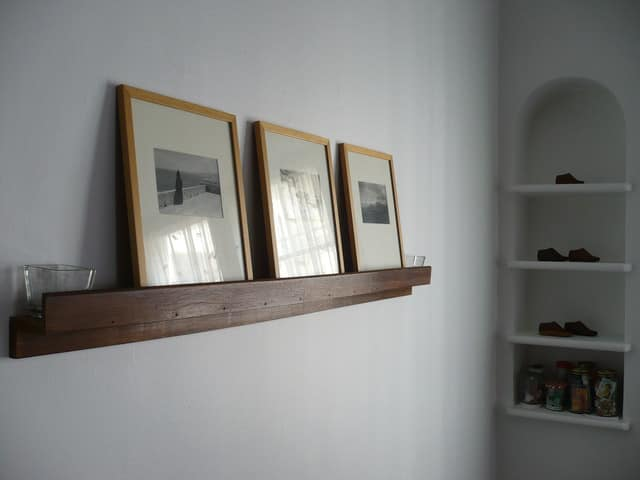 Ledges & Shallow Shelves: Hanging Art Without Commitment: gallery slide thumbnail 2