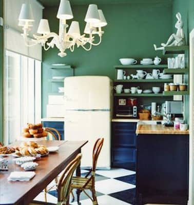 Gorgeous Greens Throughout the House: gallery slide thumbnail 2
