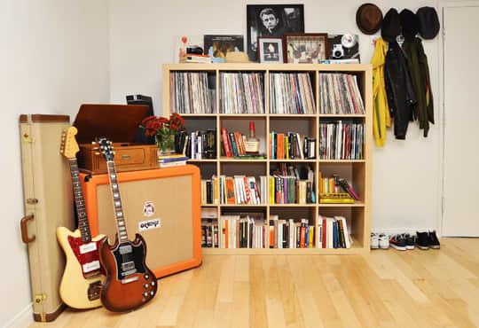 A Musician's Rock & Roll Decor: gallery slide thumbnail 2