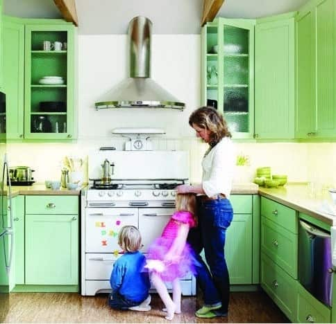 Gorgeous Greens Throughout the House: gallery slide thumbnail 1