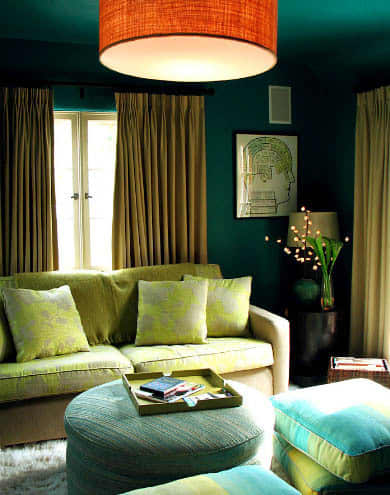 Gorgeous Greens Throughout the House: gallery slide thumbnail 4