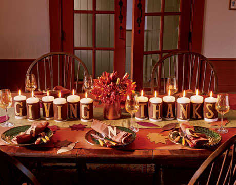 Inspiration: Beautiful Centerpieces for Your Holiday Table: gallery slide thumbnail 1