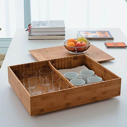 Tray and Container in One: Alessi Fat Tray & Container: gallery slide thumbnail 2