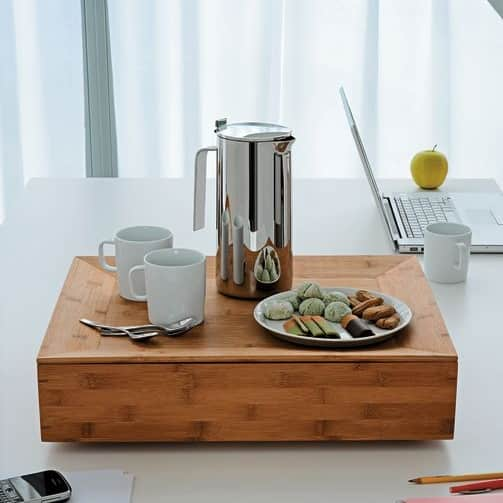 Tray and Container in One: Alessi Fat Tray & Container: gallery slide thumbnail 6
