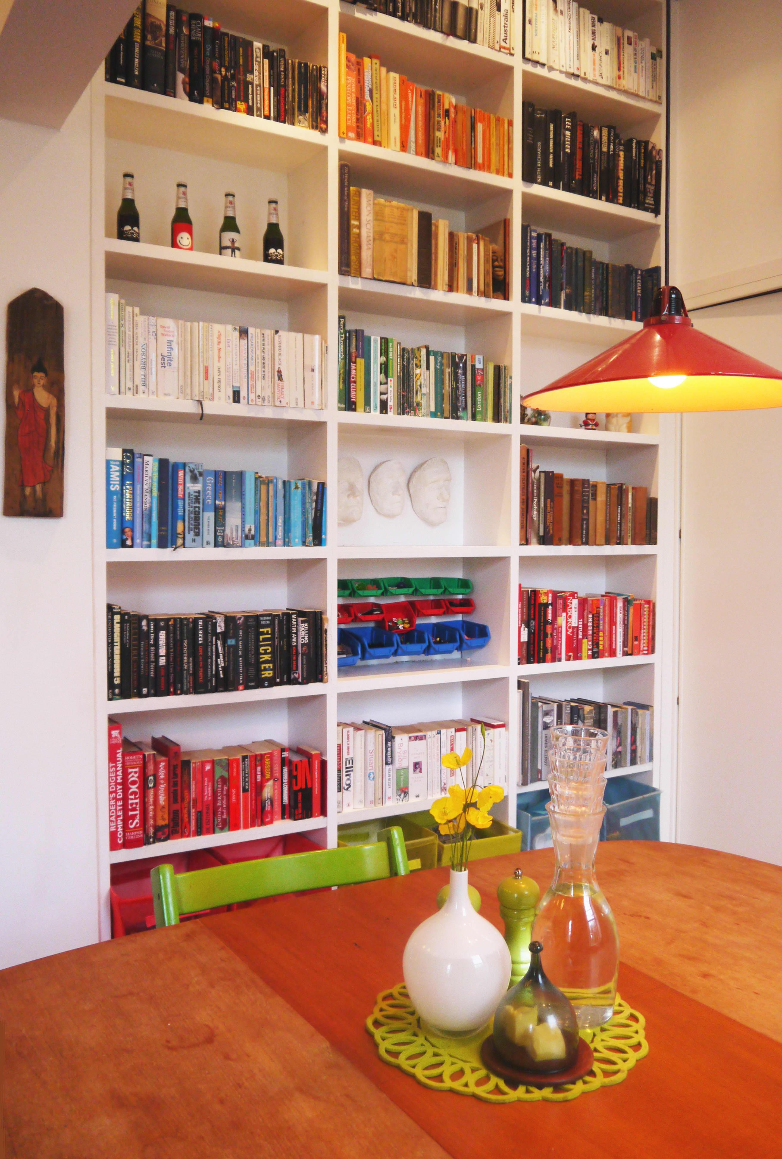 dining room bookshelves book storage