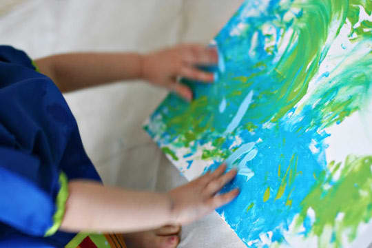 Make A Messy Masterpiece On The Cheap: gallery slide thumbnail 2