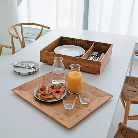 Tray and Container in One: Alessi Fat Tray & Container: gallery slide thumbnail 4