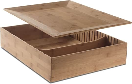 Tray and Container in One: Alessi Fat Tray & Container: gallery slide thumbnail 5