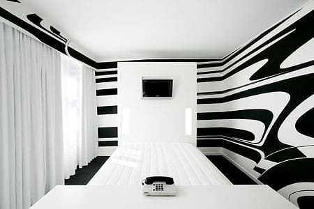 White and Minimal Tech Bedrooms: gallery slide thumbnail 3