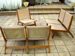 Quirky Bamboo Sofa and Chair – $400: gallery slide thumbnail 6