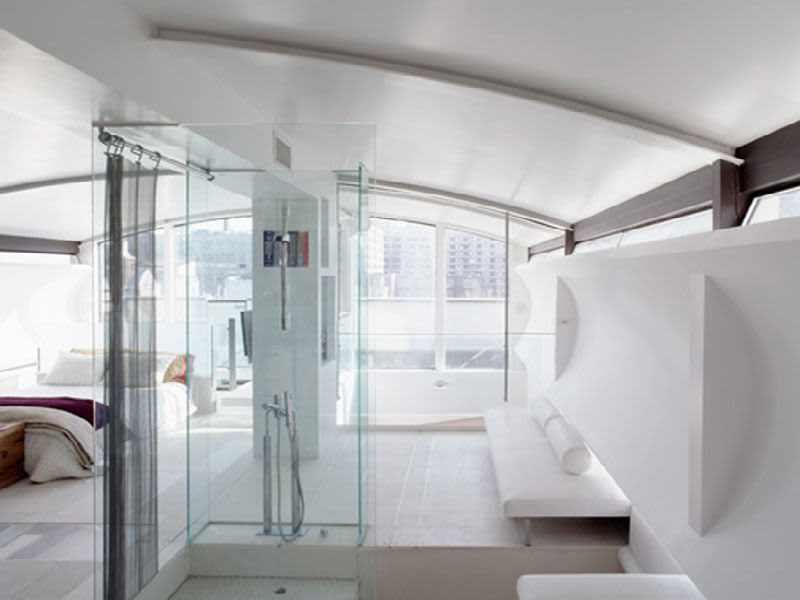 NYC Penthouse Uses Recycled Subway Parts: gallery slide thumbnail 2