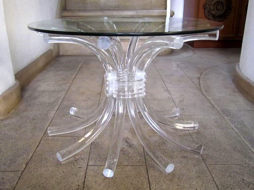 Lucite Side Table – $279: gallery slide thumbnail 9