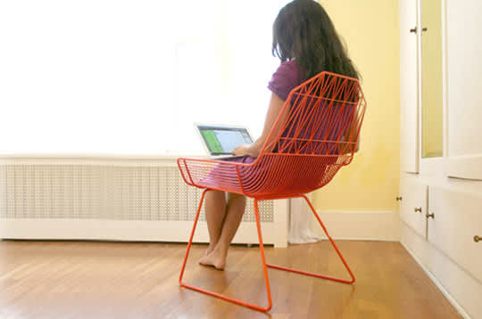 Bend: Wire Seating by Gaurav Nanda: gallery slide thumbnail 8