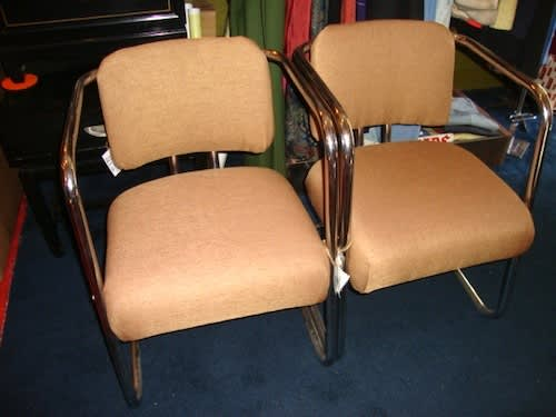 Reupholstered Cassina Chairs – $5000: gallery slide thumbnail 3