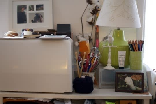 5 Easy Ways to Brighten Your Home Office: gallery slide thumbnail 4