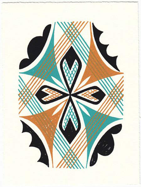 Bright Patterned Art Prints by Beau Ideal Editions: gallery slide thumbnail 1