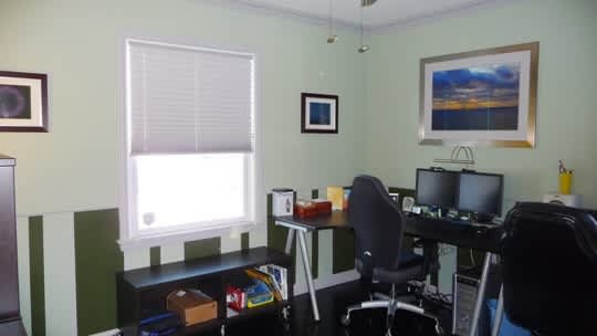 Before & After: Happy Husband's Home Office: gallery slide thumbnail 2
