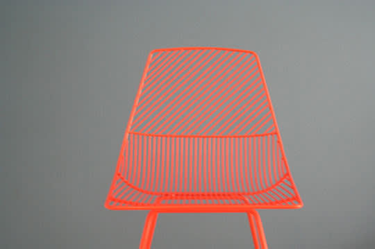 Bend: Wire Seating by Gaurav Nanda: gallery slide thumbnail 3
