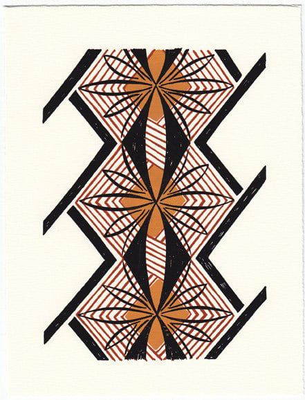 Bright Patterned Art Prints by Beau Ideal Editions: gallery slide thumbnail 4