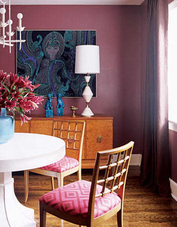 Design Inspiration: Beautifully Painted Dining Rooms: gallery slide thumbnail 7