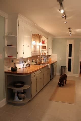 Before & After: Amy & Chad's Kitchen Update on a Budget: gallery slide thumbnail 3