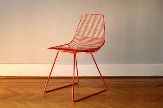 Bend: Wire Seating by Gaurav Nanda: gallery slide thumbnail 5