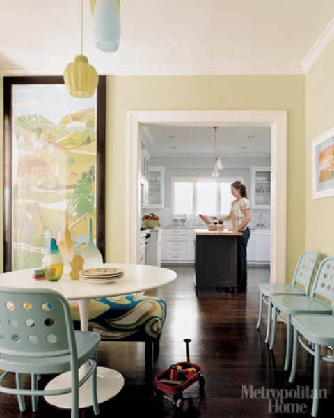 Design Inspiration: Beautifully Painted Dining Rooms: gallery slide thumbnail 3