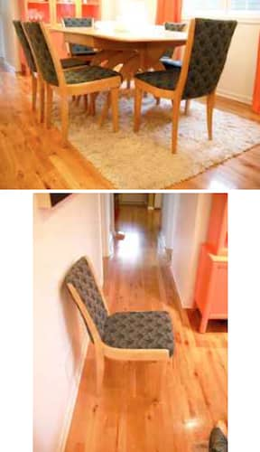 Heywood Wakefield Table and Chairs – $1400: gallery slide thumbnail 2