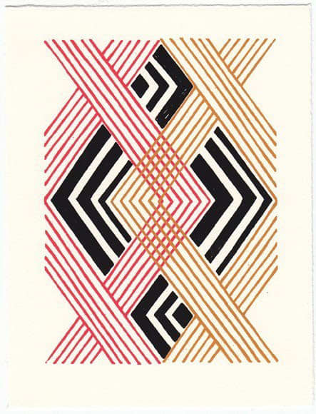 Bright Patterned Art Prints by Beau Ideal Editions: gallery slide thumbnail 3
