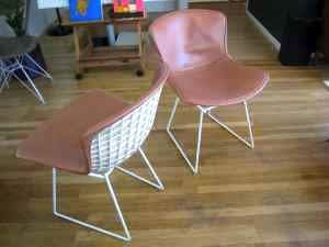 Reupholstered Cassina Chairs – $5000: gallery slide thumbnail 1