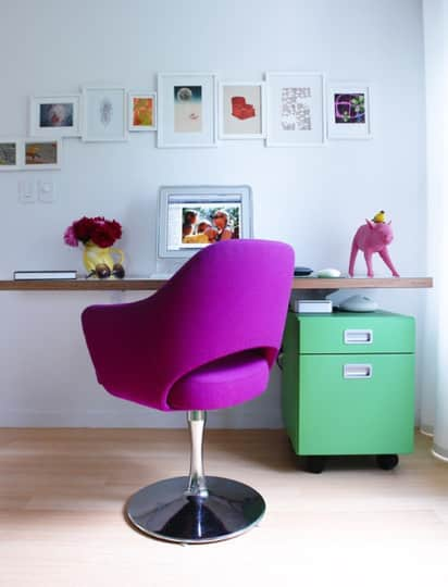 5 Easy Ways to Brighten Your Home Office: gallery slide thumbnail 3
