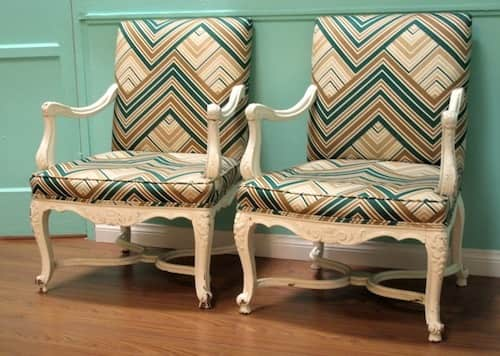 Pair of Arm Chairs – $300: gallery slide thumbnail 8
