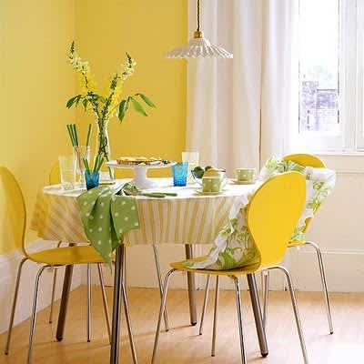 Design Inspiration: Beautifully Painted Dining Rooms: gallery slide thumbnail 1