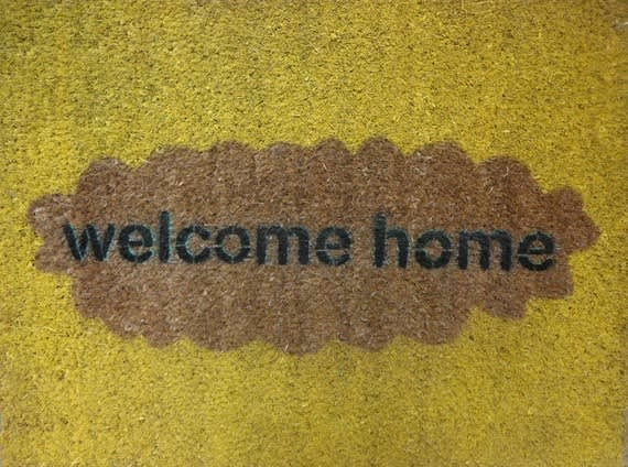 Modern Welcome Mats: gallery image 4