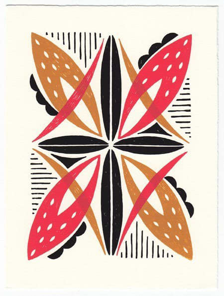 Bright Patterned Art Prints by Beau Ideal Editions: gallery slide thumbnail 5