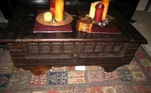 Quirky Bamboo Sofa and Chair – $400: gallery slide thumbnail 3