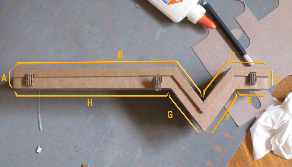 Build a Cardboard Shelf Perfect for Your Phone & Keys: gallery slide thumbnail 3