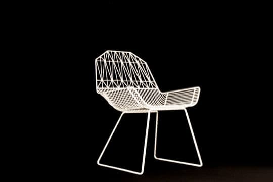Bend: Wire Seating by Gaurav Nanda: gallery slide thumbnail 7