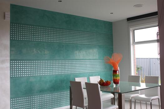 Contemporary Venetian Plaster Applications: gallery slide thumbnail 4