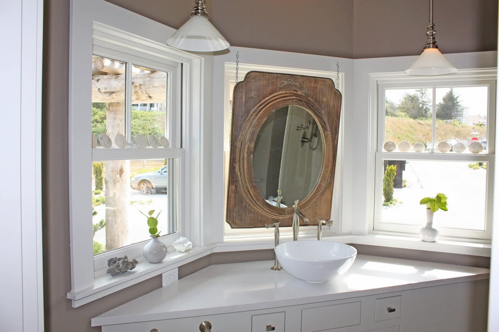 Space Solutions: Hanging Mirrors Over Windows: gallery image 5