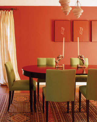 Design Inspiration: Beautifully Painted Dining Rooms: gallery slide thumbnail 5