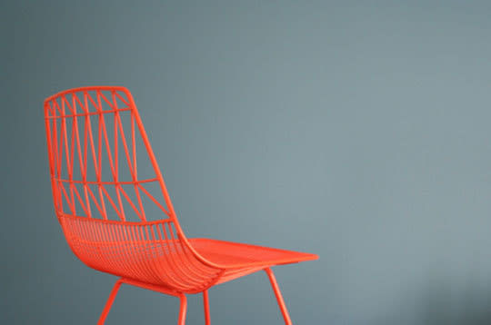 Bend: Wire Seating by Gaurav Nanda: gallery slide thumbnail 4
